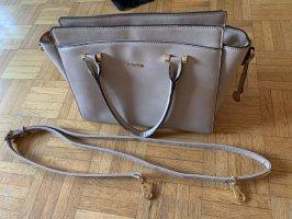 Handtasche taupe beige L.CREDI
