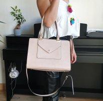 Handtasche Umhängetasche hell rosa rose beige tk maxx tj maxx Kunstleder