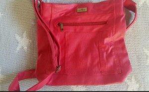 Handtasche Umhängetasche Neu In Himbeere