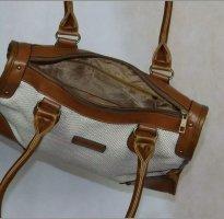 Aniston Handbag brown-cream