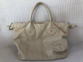 Cate Gray Handbag oatmeal leather