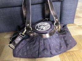 Handtasche von Friis & Company in braun und gold