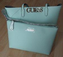 Handtasche von Guess mit herausnehmbarer Reißverschlusstasche