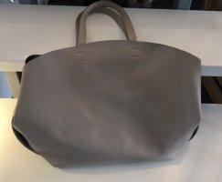 Handtasche von Zara in taupe