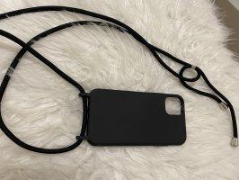 Mobile Phone Case silver-colored-black