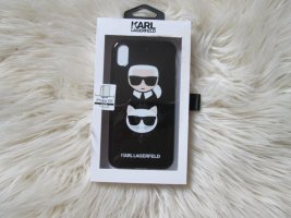 Karl Lagerfeld Key Chain white-black