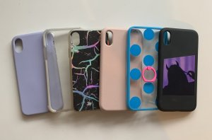 Hoesje voor mobiele telefoons veelkleurig