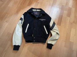Harley Davidson Leather Jacket black-cream