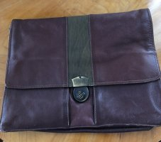 HAROLD'S Briefcase bordeaux-brown red