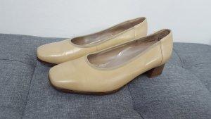 Hassia Damen Komfort Diana Leder Pumps beige creme Größe 37