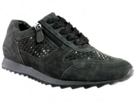 HASSIA Sneaker Barcelona – Weite H  - anthrazith – aktuelles Modell