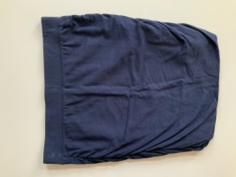 Stretch Skirt dark blue cotton