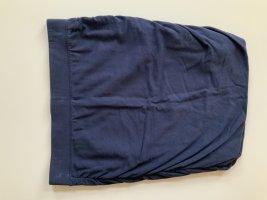 Falda stretch azul oscuro Algodón