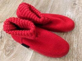 Giesswein Pantoufles-chaussette multicolore laine