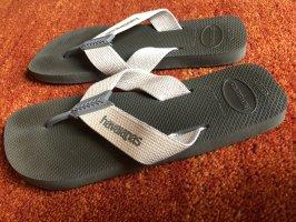 Havaianas Flip-Flop Sandals grey-cream