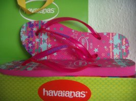 Havaianas Sandalias con talón descubierto rosa-turquesa