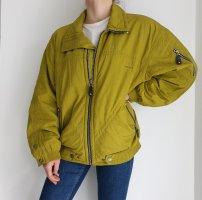 Head Grün gelb True Vintage Jacken Übergangsjacke Winterjacke sportjacke Mantel Trenchcoat Oversize Trench Coat Hoodie