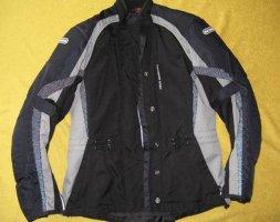 Biker Jacket dark grey polyester