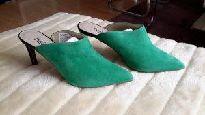 Heine Sandalias con tacón negro-verde
