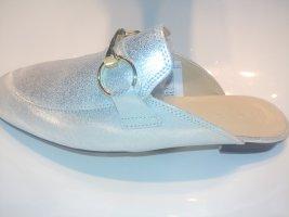 Heine Sabots silver-colored