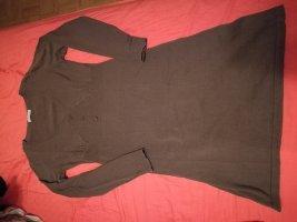 Aniston Sukienka z długim rękawem szaro-brązowy-jasnobrązowy