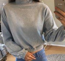Hellblau Pullover
