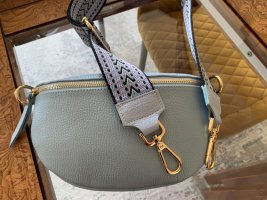 Börse in Pelle Crossbody bag azure