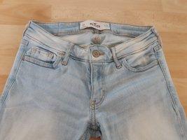 Hellblaue Hollister Jeans, skinny, OR, w24, L31