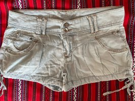 Hellblaue Hotpants Jeansstyle