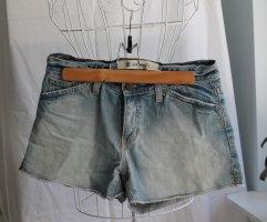 Hellblaue Jeans-Shorts von GAP
