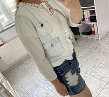 Hellblaue Jeansjacke Damen Gina Trikot