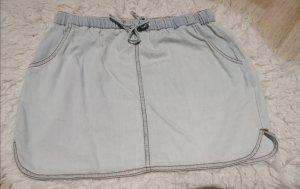 CROPP Denim Skirt azure-neon blue