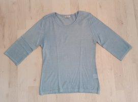 Cashmere Blues Pullover in cashmere azzurro Cachemire