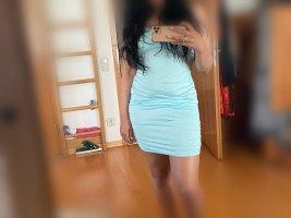 Hellblaues Sommerkleid Größe L