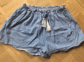 Zaful Shorts azzurro-bianco