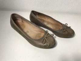 5th Avenue Bailarinas con tacón Mary Jane marrón claro-beige