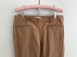 Stefanel Pantalón de tubo marrón claro Algodón