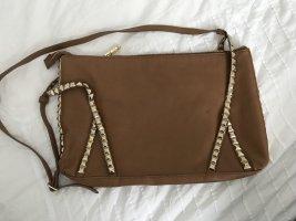 Hellbraune Tasche von Zara