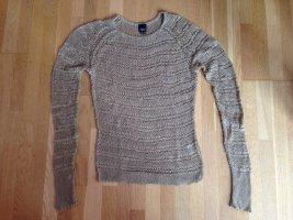 hellbrauner Baumwollpullover von Esprit