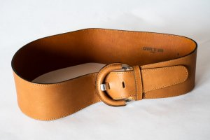cerruti 1881 Leather Belt sand brown leather