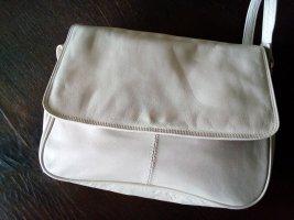 helle Handtasche aus Leder