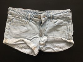 helle jeansshorts von h&m