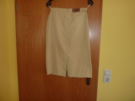 Bogner Jeans Underskirt pale yellow cotton