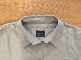 hellgraue Flanell-Bluse von Joop