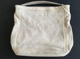 Hellgraue Wildledertasche mit goldenen Details von Coccinelle