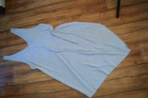Hellgraues Zipfel Longshirt H&M Gr. 40/42