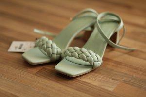 Pimkie Sandales à plateforme gris vert