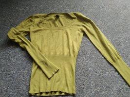 hellgrüner Pullover von mng basics in Größe M