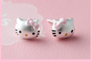 Hello Kitty Ohrstecker