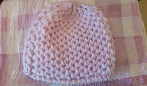 Knitted Hat light pink